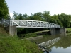 Aluminum Excel Pedestrian Bridge - 108' x 8' - Modified Bow Truss